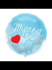Folieballon Missing You