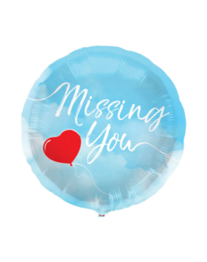 Folieballon Missing You