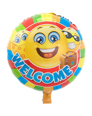 Folieballon Welcome - 43cm