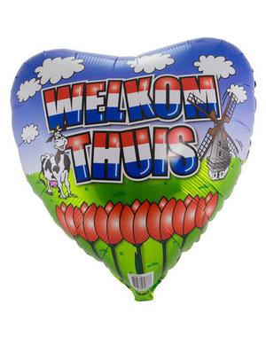 Folieballon Welkom Thuis Holland - 46cm