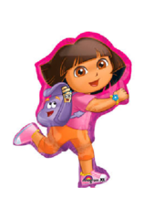 Folieballon Dora the Explorer