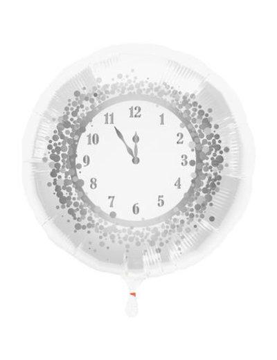 Folieballon Nieuwjaar Klok