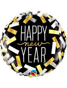 Folieballon Happy New Year - 45cm
