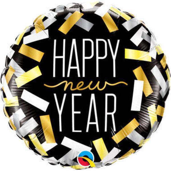 Folieballon Happy New Year