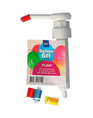 Balloongel Pompje voor 2,5ltr Fles