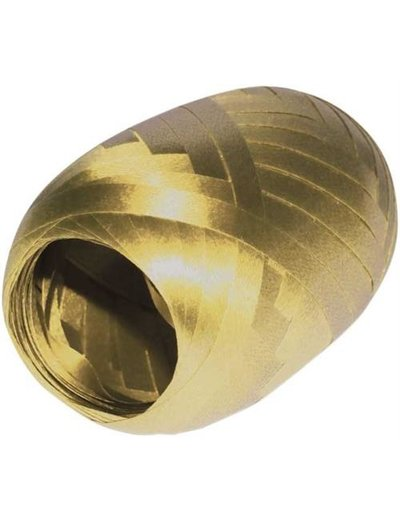 Ballonnenlint Bolletje Goud - 20mtr/5mm