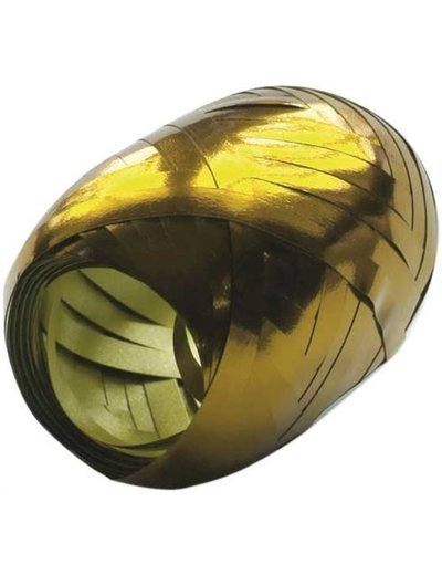 Ballonnenlint Bolletje Goud Metallic - 20mtr/5mm