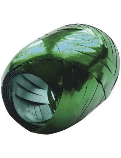Ballonnenlint Bolletje Groen Metallic - 20mtr/5mm