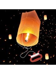 Wensballon met Touw