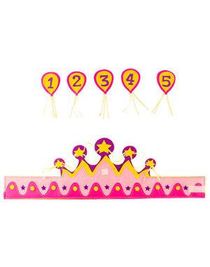 Verjaardag Kroontje Meisje