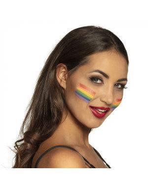 Schminkstift 6 in 1 Rainbow