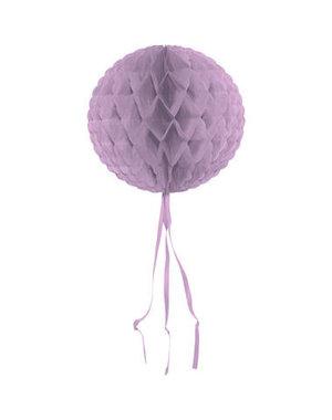 Honeycomb Lila Rond - 30cm