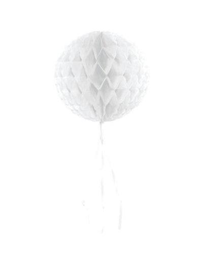 Honeycomb Wit Rond - 30cm