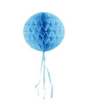 Honeycomb Licht Blauw Rond -  30cm