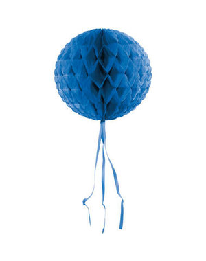 Honeycomb Blauw Rond -  30cm