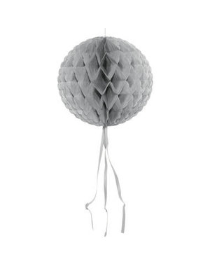 Honeycomb Zilver Rond - 30cm