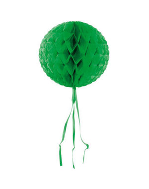Honeycomb Groen Rond - 30cm