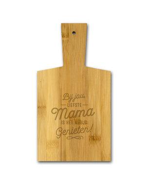 Cadeaus Borrelplankje - Bij jou liefste Mama