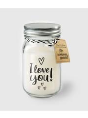 Cadeaus Geurkaars - I Love You