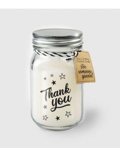 Cadeaus Geurkaars - Thank You