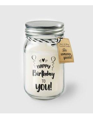 Cadeaus Geurkaars - Birthday