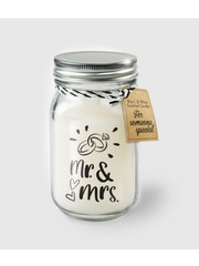 Cadeaus Geurkaars - Mr & Mrs