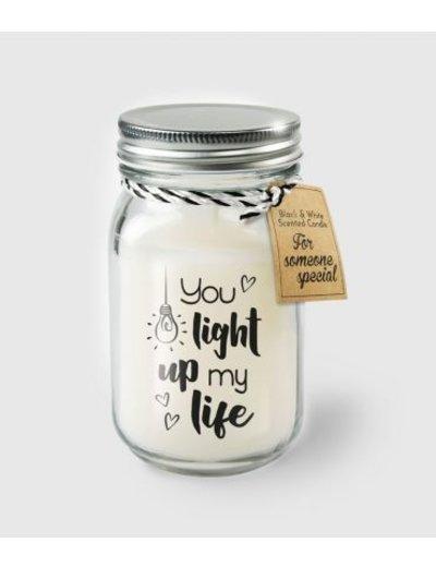 Cadeaus Geurkaars - Light up