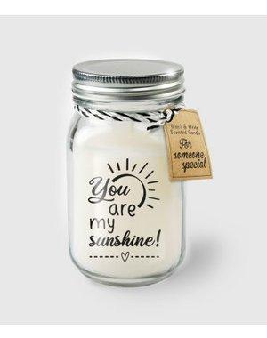 Cadeaus Geurkaars - Sunshine