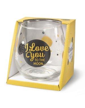 Wijnglazen Wijn/Waterglas - I Love You