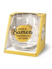 Wijnglazen Wijn/Waterglas - Liefde is