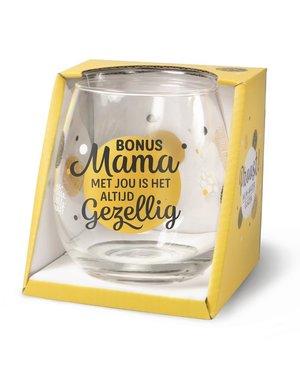 Wijnglazen Wijn/Waterglas - Bonus Mama