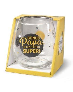 Wijnglazen Wijn/Waterglas - Bonus Papa