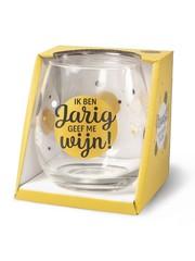Wijnglazen Wijn/Waterglas - Jarig