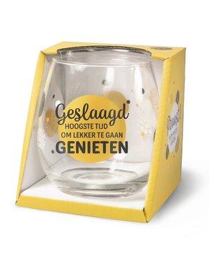 Wijnglazen Wijn/Waterglas - Geslaagd