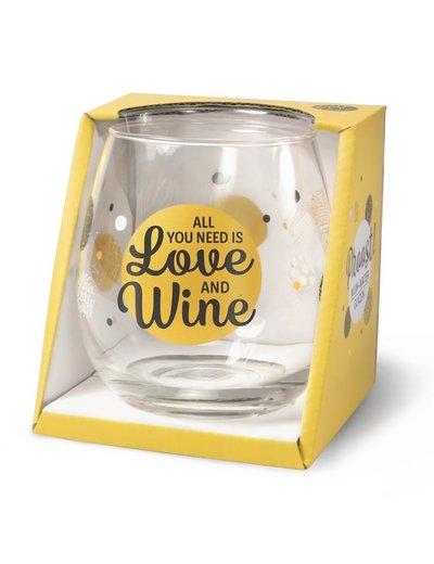 Wijnglazen Wijn/Waterglas - Love