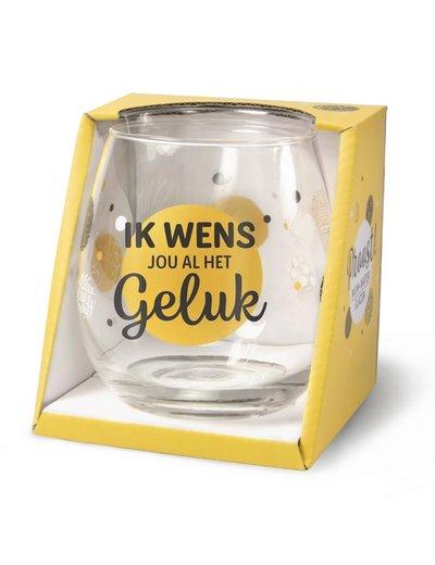 Wijnglazen Wijn/Waterglas - Geluk