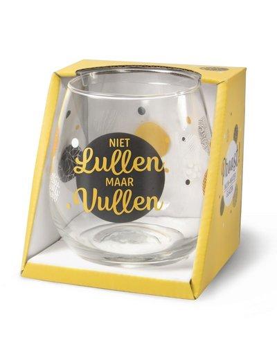 Wijnglazen Wijn/Waterglas - Niet Lullen