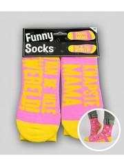 Sokken Funny Socks - Knapste Mama
