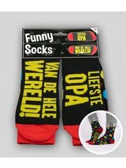 Sokken Funny Socks - Liefste Opa