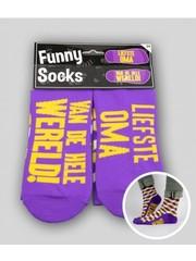Sokken Funny Socks - Liefste  Oma
