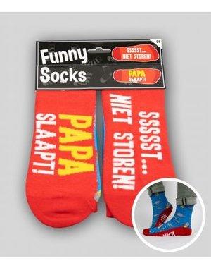 Sokken Funny Socks - Niet Storen Papa