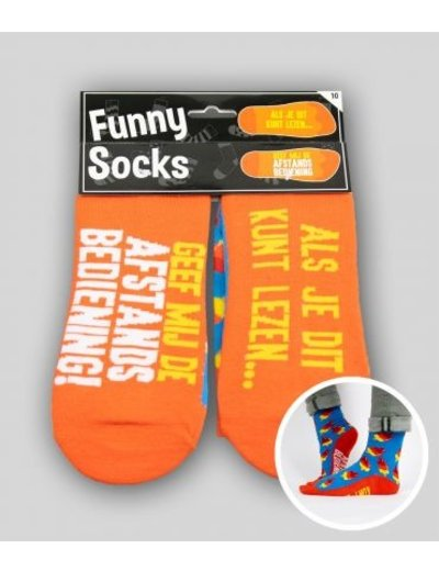 Sokken Funny Socks - Afstandsbediening