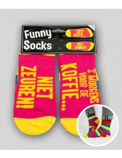 Sokken Funny Socks - Niet Zeuren