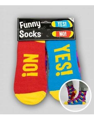 Sokken Funny Socks - Yes! No!