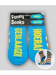Sokken Funny Socks - Geslaagd