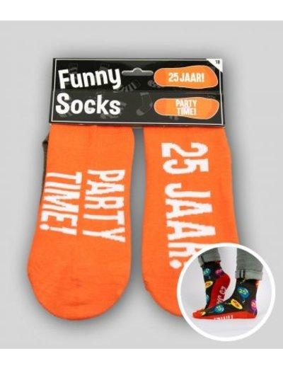 Sokken Funny Socks - 25 Jaar