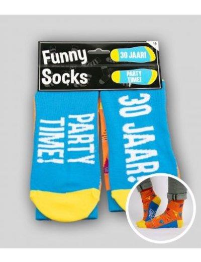 Sokken Funny Socks - 30 Jaar