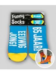 Sokken Funny Socks - 65 Jaar
