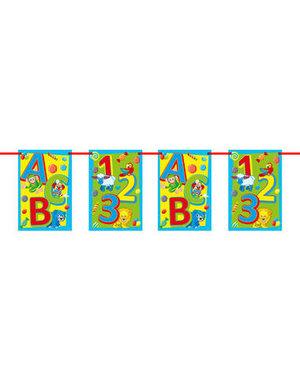 ABC Vlaggenlijn - 10 mtr