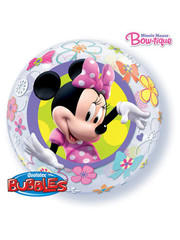 Ballon Bubbles Balloon Minnie Mouse